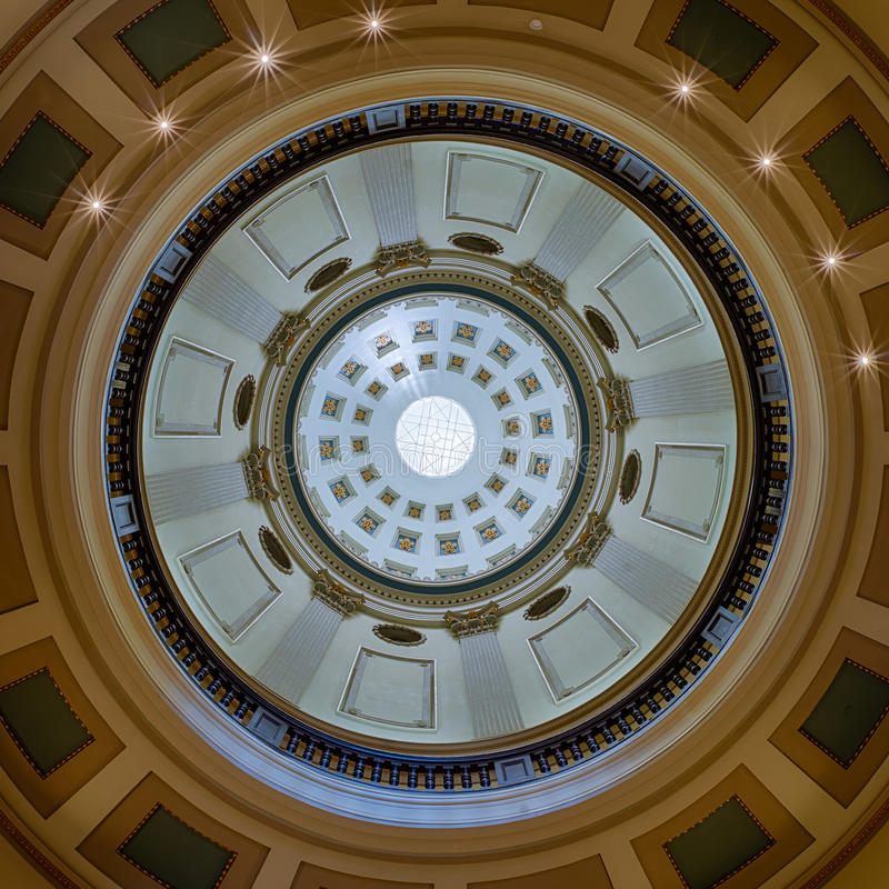 Capitol dome stock photography
