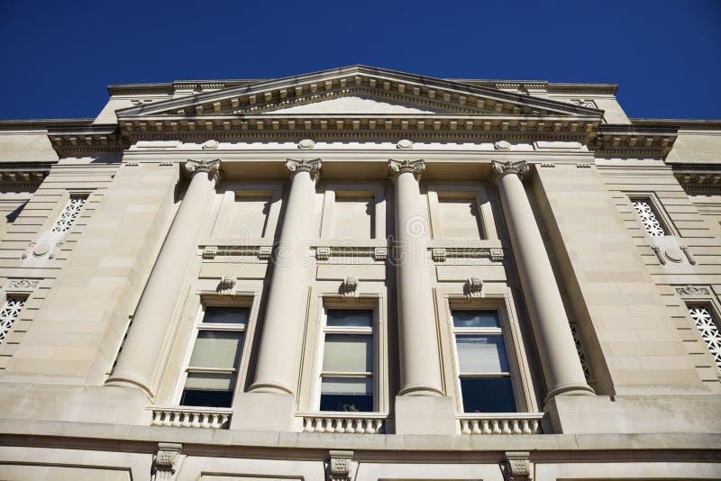 capitol fasadowy Frankfort stan zdjęcie stock