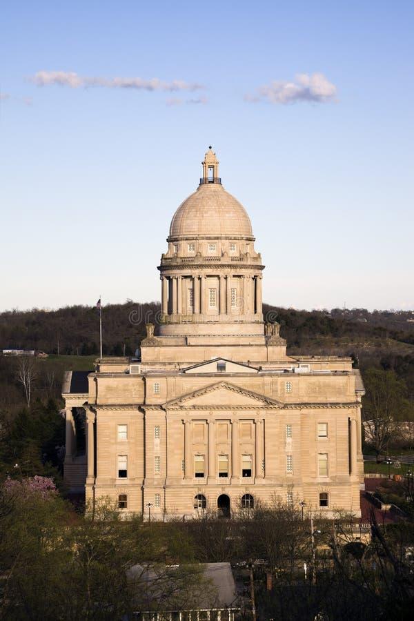 capitol Frankfort Kentucky stan zdjęcia stock