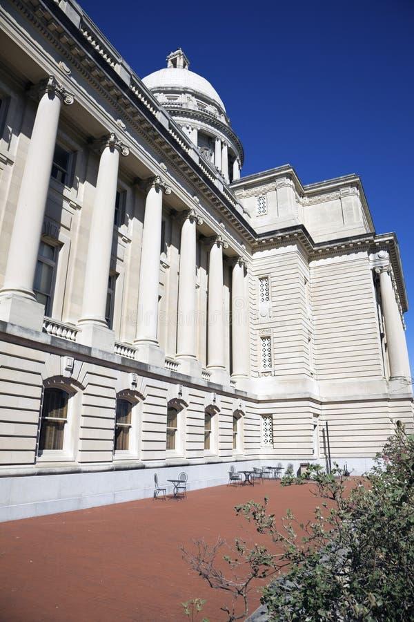 capitol Frankfort Kentucky stan zdjęcie royalty free