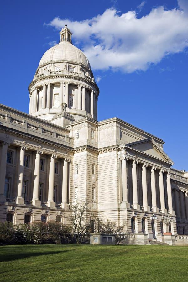 capitol Frankfort Kentucky stan zdjęcie stock