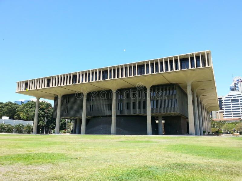 capitol Hawaii stan zdjęcie stock