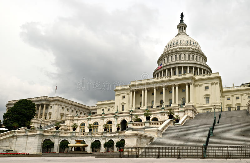 Download Capitol Hill stock photo. Image of flag, house, exterior - 10076344