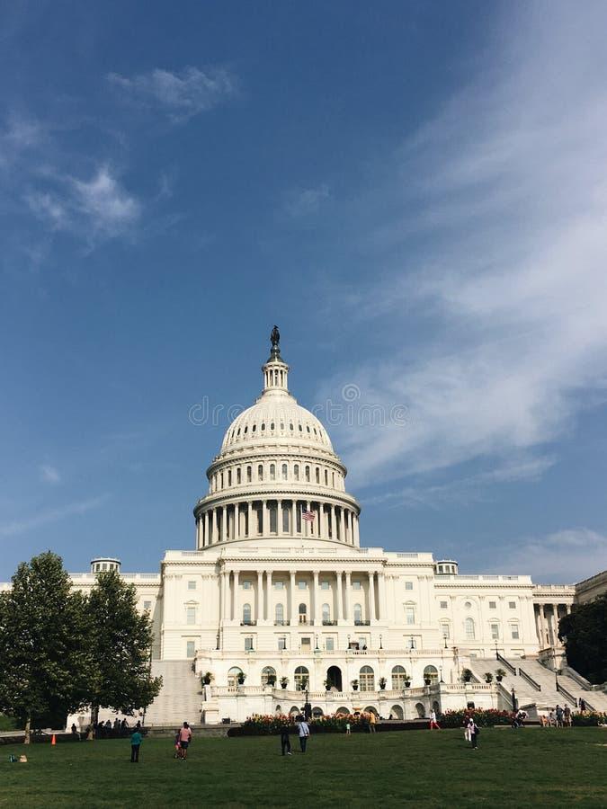 capitol hill zdjęcie stock