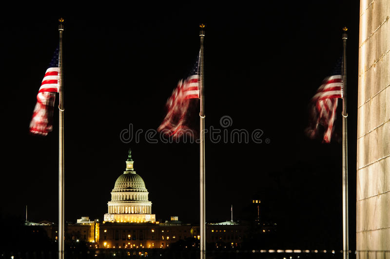 Capitol Hill stock image