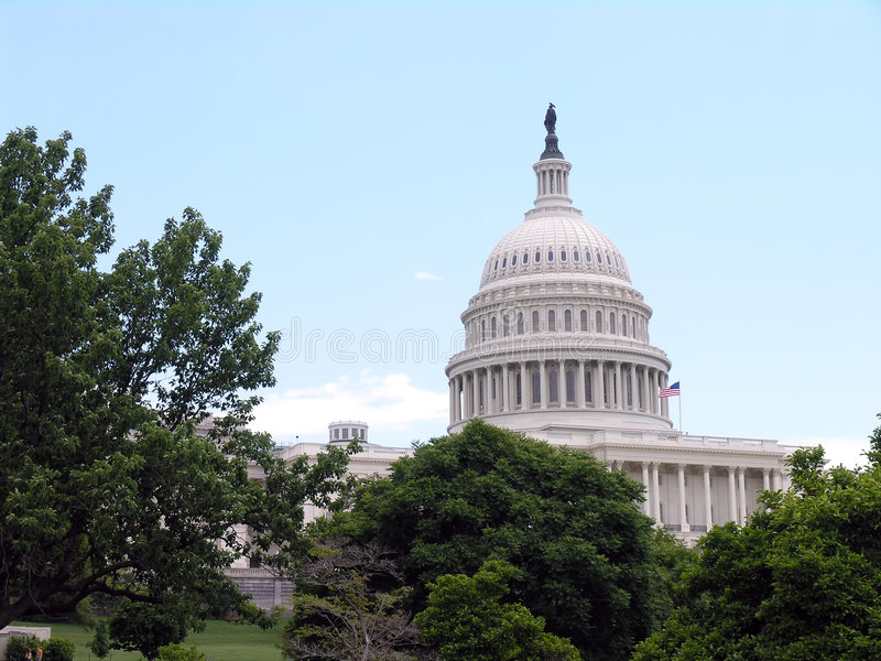 Capitol Hill Royalty Free Stock Photos