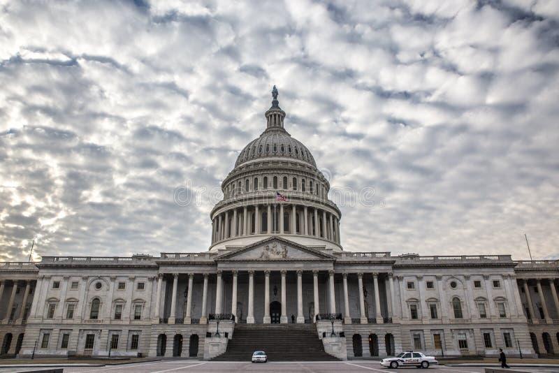 Capitol Hill royalty-vrije stock afbeeldingen