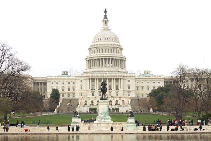 Capitol Hill royalty-vrije stock fotografie