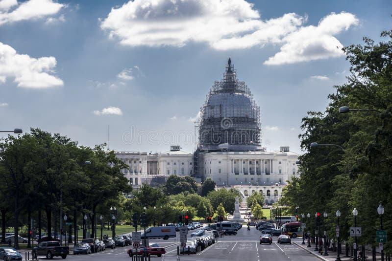 Capitol Hill arkivbild