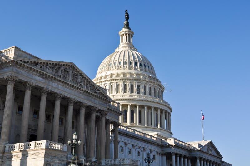 Capitol Hill byggnad royaltyfri bild