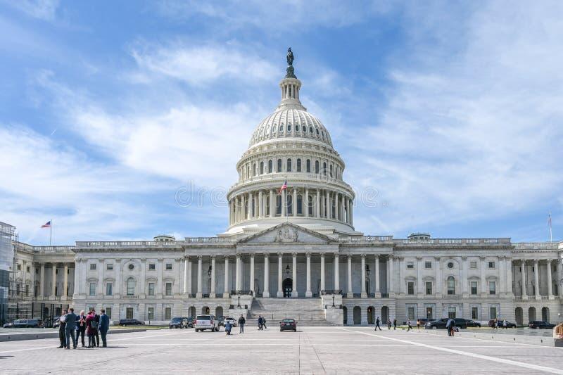 Capitol Hill en Washington DC fotos de archivo