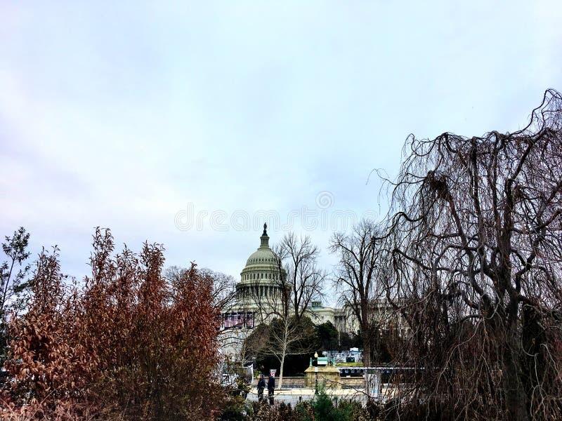 Capitol Hill nella caduta immagine stock