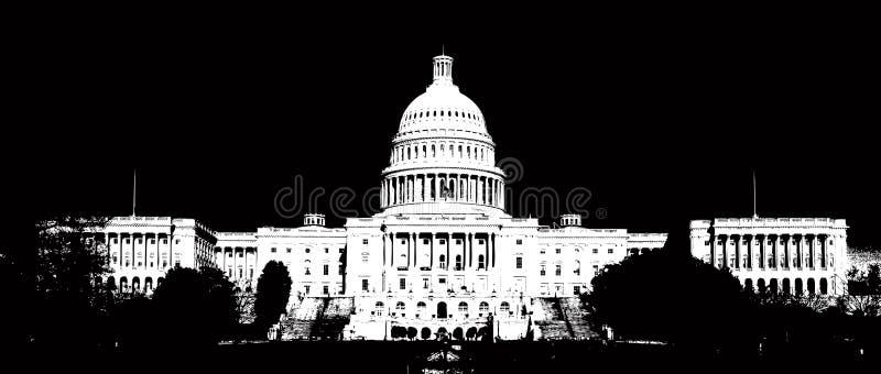 Capitol Hill nous illustration libre de droits