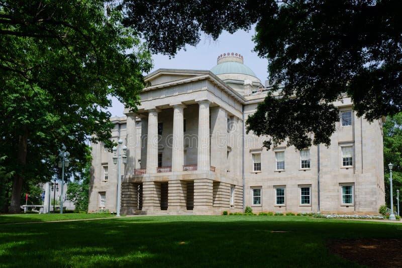 Capitol historique d'état de la Caroline du Nord photos libres de droits