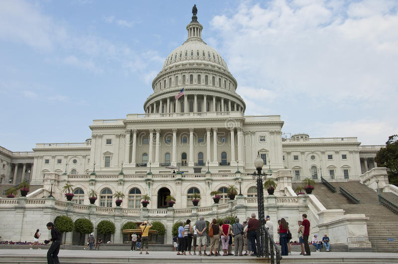 Capitol and house of Representatives, stock images
