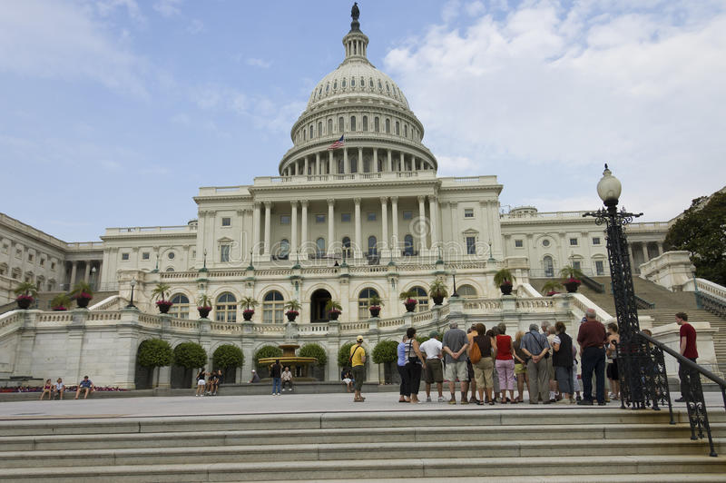 Capitol and house of Representatives stock photography