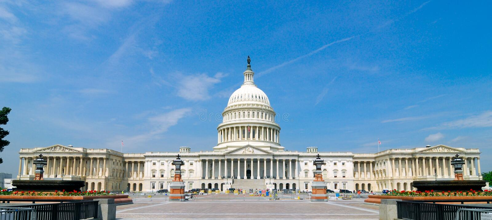 Capitol III royalty free stock photography