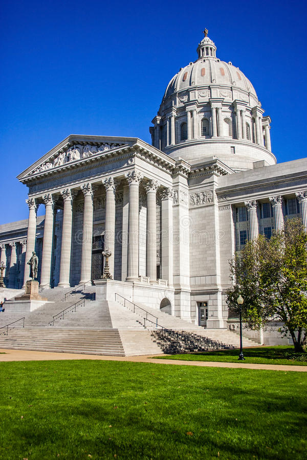 Capitol Jefferson City Missouri image libre de droits