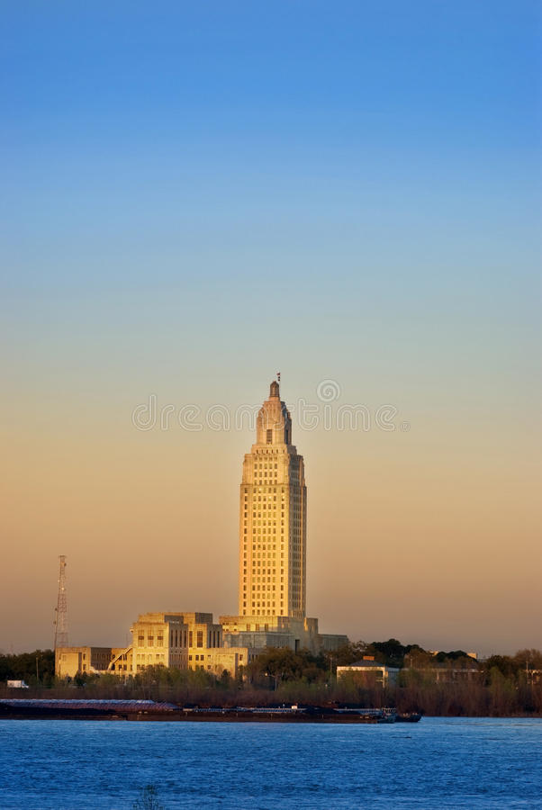 capitol Louisiana stan obrazy stock