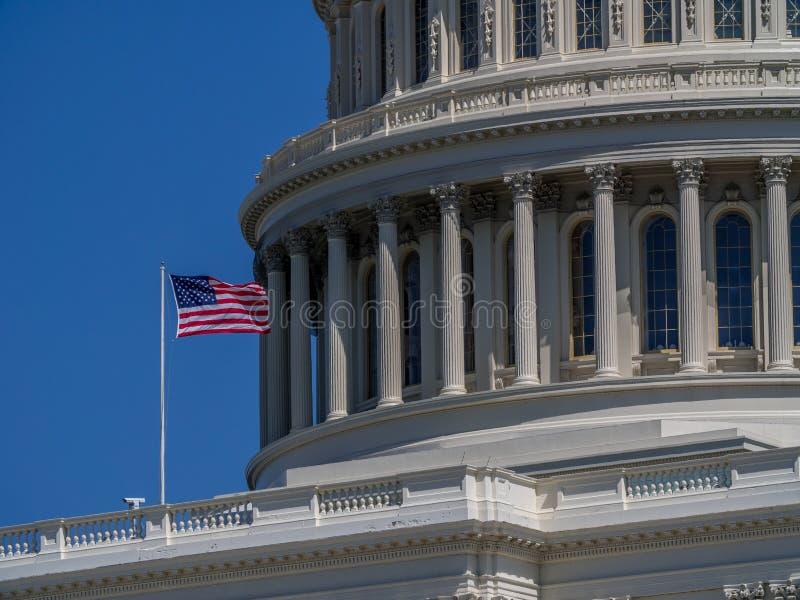 Capitol national des USA à Washington, D C images libres de droits