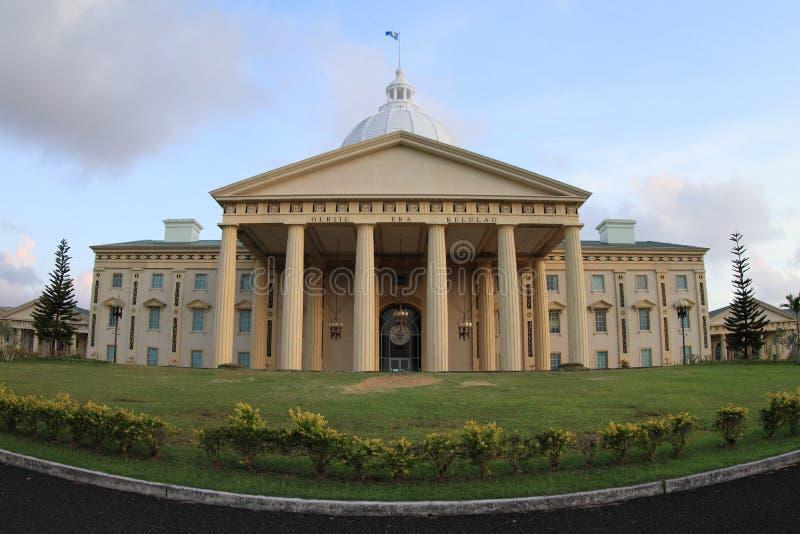Capitol of Palau royalty free stock photo