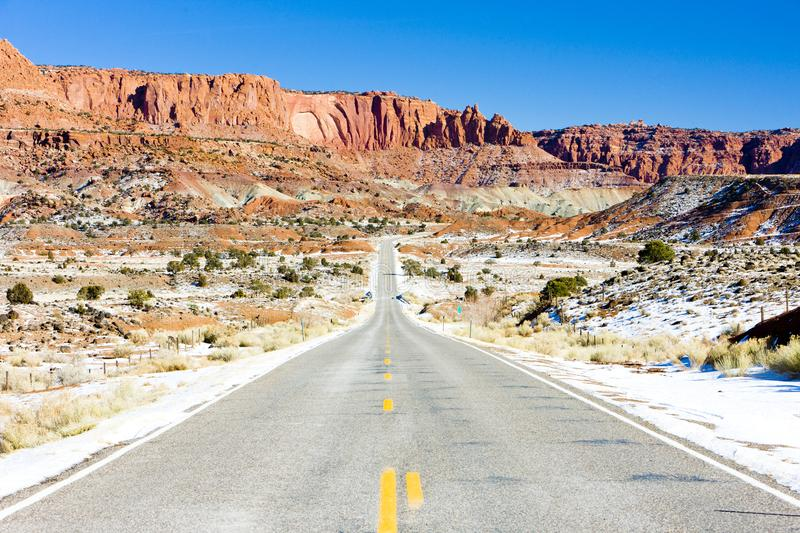 Capitol Reef National Park, Utah, USA. Outdoors, outside, exteriors, america, north, united, states, southwest, southwestern, np, natural, reservation, nature stock photos