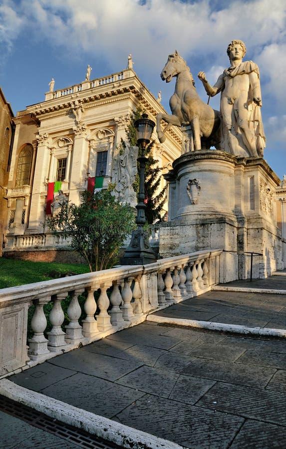 Capitol, Rome royalty free stock photos