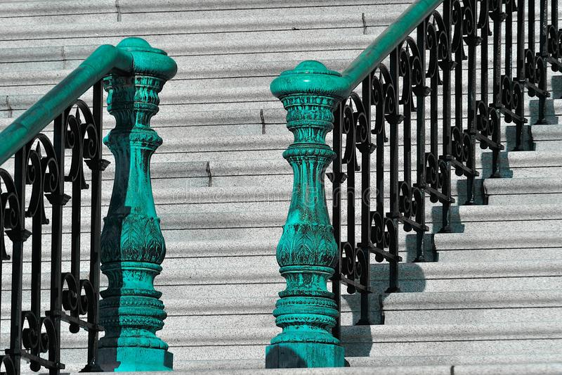 Capitol stairs stock images