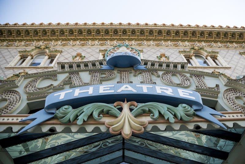 Capitol Theatre, Down Town Salt Lake City, Utah. USA royalty free stock image