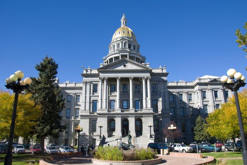 Download Capitolcolorado tillstånd fotografering för bildbyråer. Bild av kupol - 3540029