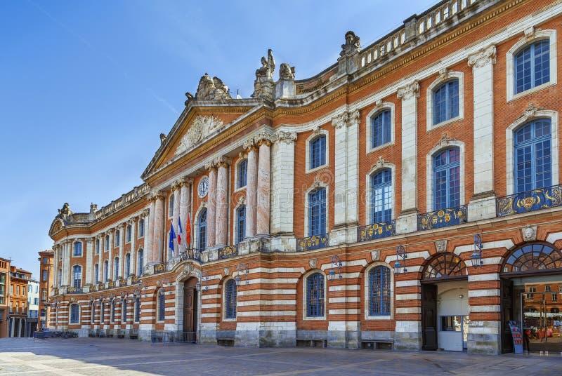 Capitole de Toulouse, França foto de stock royalty free