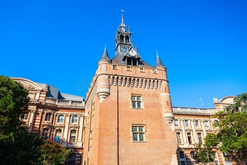 Capitole-Kerker-Turmquadrat, Toulouse stockfoto