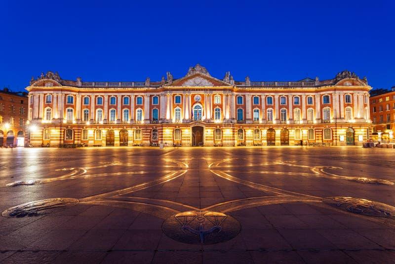 Capitole oder Rathaus, Toulouse lizenzfreie stockbilder