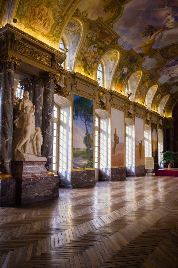Capitole wnętrze Salle des Illustres toulouse Francja zdjęcia royalty free