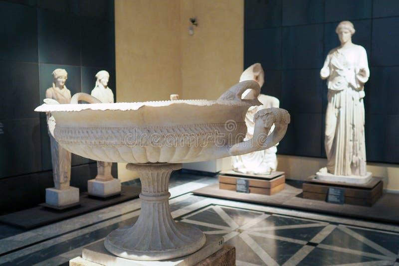 Capitoline museum av Rome, Italien arkivfoto