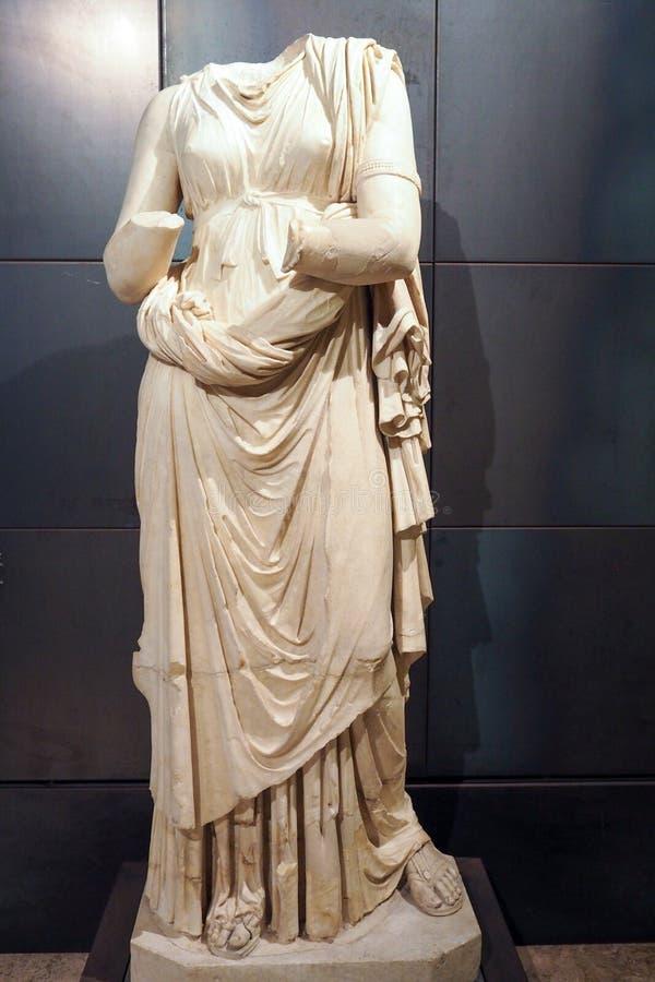 Capitoline museum av Rome, Italien arkivbilder