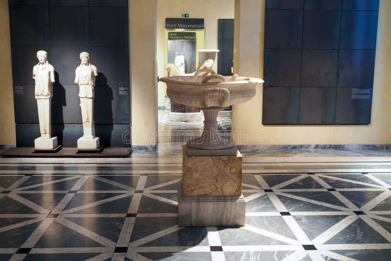 Capitoline museum av Rome, Italien royaltyfri foto