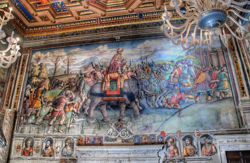 capitoline wewnętrzny muzealny Rome obraz royalty free