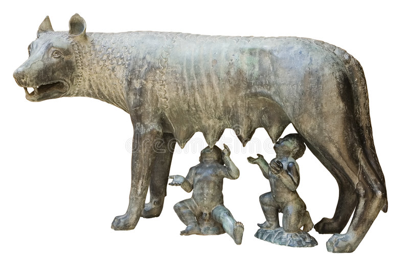 Capitoline wolf royalty free stock photography