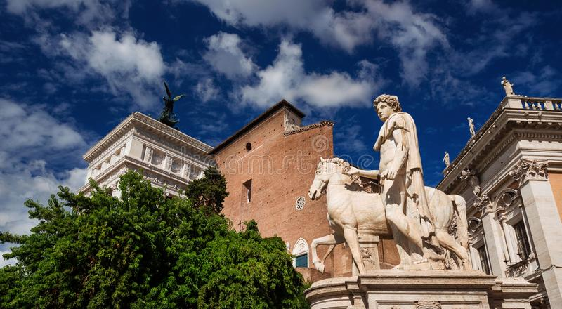 capitoline wzgórze Rome zdjęcia royalty free