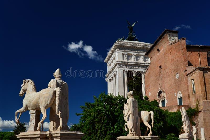 capitoline wzgórze Rome obrazy stock