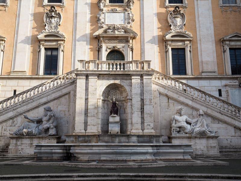 capitoline wzgórze Rome obraz stock