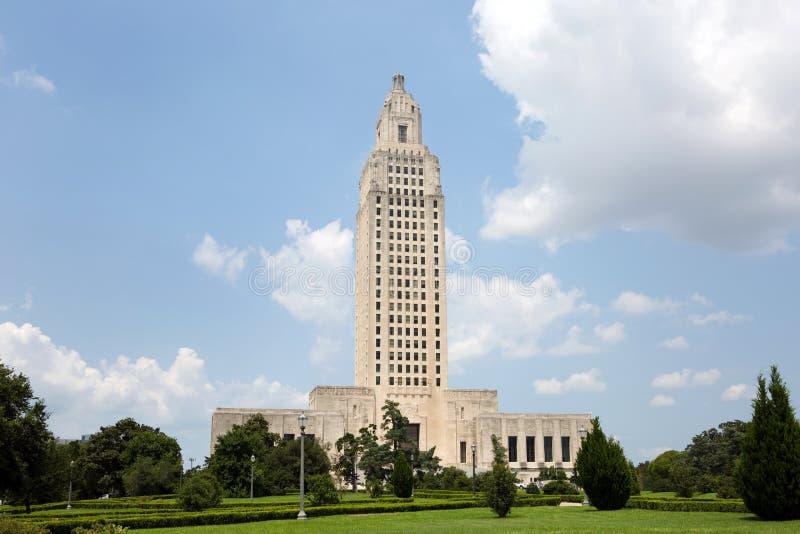Capitolio Baton Rouge del estado de Luisiana imagen de archivo