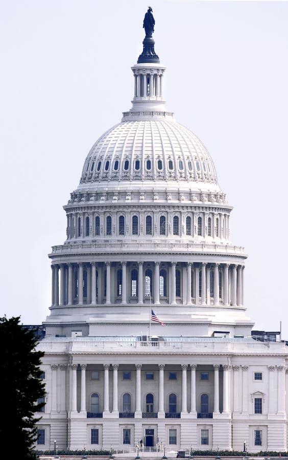 Capitolio cercano - encima de (Washington DC) fotos de archivo libres de regalías