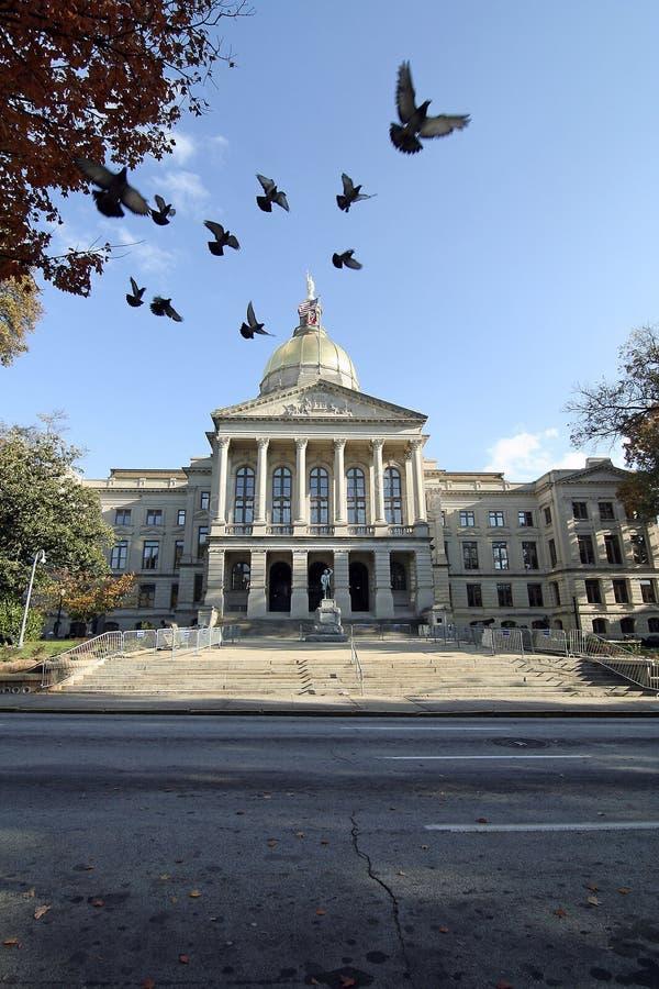 Capitolio de Georgia imágenes de archivo libres de regalías