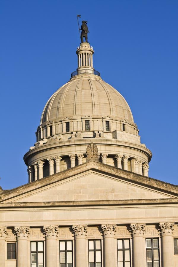Capitolio de la ciudad-estado de Oklahoma imagen de archivo libre de regalías