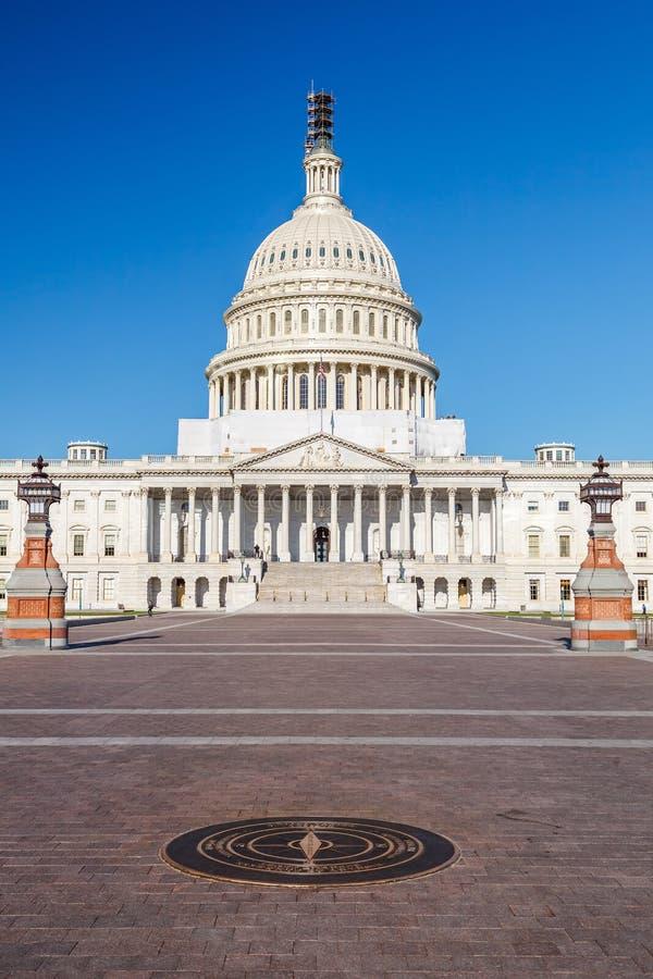 Capitolio de los E.E.U.U., Washington DC foto de archivo libre de regalías
