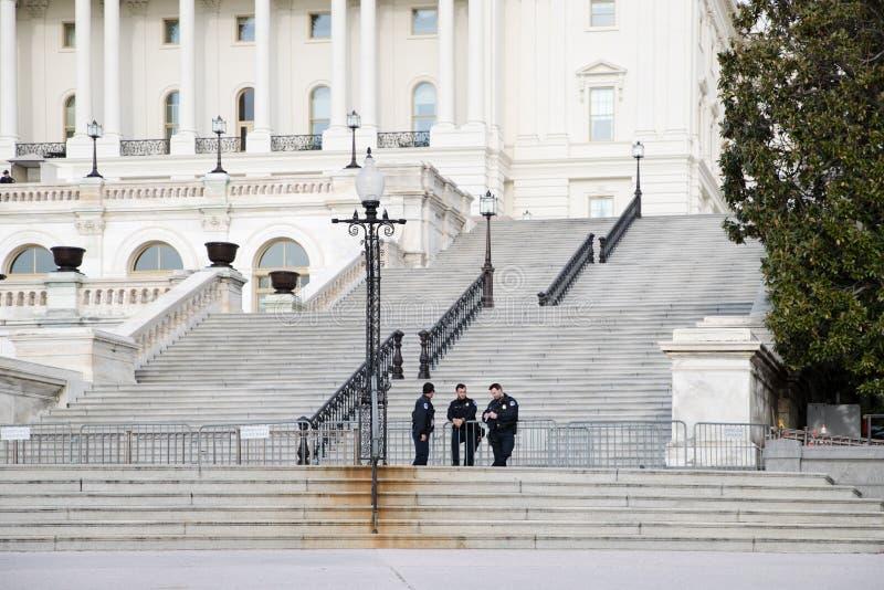 Capitolio de los E.E.U.U., lugar de reunión del senado y la cámara de representantes fotografía de archivo libre de regalías