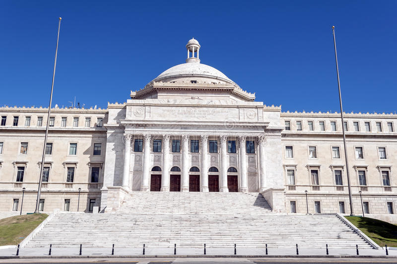 Capitolio de Puerto Rico fotos de archivo