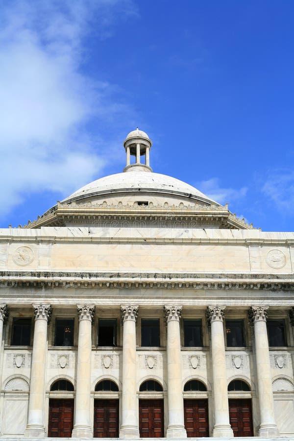 Capitolio de Puerto Rico imagen de archivo